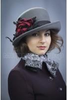 Шляпка фетровая Миринда