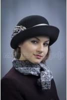 Шляпка фетровая Летисия