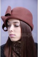 Шляпка фетровая Делора