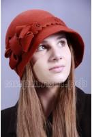 Шляпка фетровая Леона