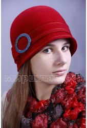 Шляпка фетровая Лилит