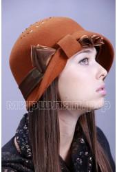 Шляпка фетровая Линда