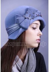 Шляпка фетровая Лира