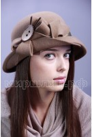Шляпка фетровая Дайна