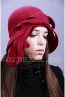 Шляпка фетровая Мэриан