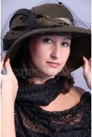 Шляпка фетровая Мелисса