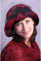 Шляпка фетровая Агами