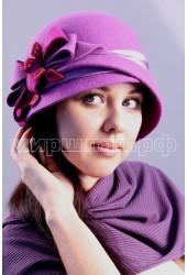 Шляпка фетровая Амадина