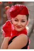 Коктейльная шляпка Светлана