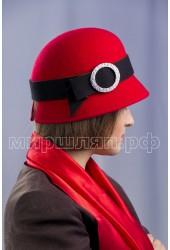Шляпка фетровая Авелина