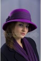 Шляпка фетровая комплект