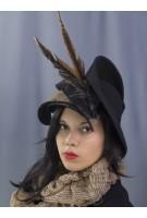 Шляпка фетровая Мэрлин