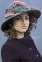 Шляпка фетровая Бораго