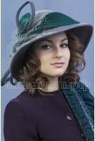Шляпка фетровая Георгина