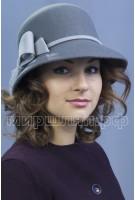 Шляпка фетровая Ежевика