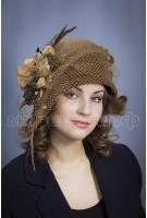 Шляпка фетр Цинерия