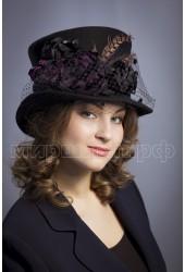 Шляпа фетровая Самира