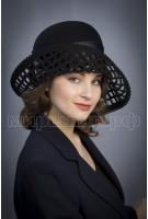 Шляпка фетр Родиола