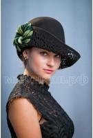 Шляпа фетровая Стелла