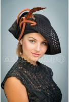 Шляпа фетровая Саида