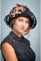 Шляпа фетровая Тамара