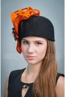 Шляпа фетровая Цветана
