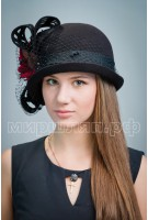 Шляпа фетровая Циара