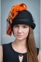 Шляпа фетровая Астильба