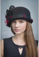 Шляпа фетровая  Бруния