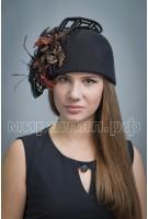 Шляпа фетровая Маргаритка