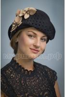 Шляпа фетровая Пион