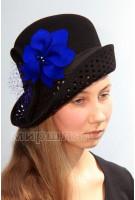 Шляпа фетровая Гвоздика