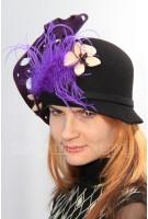 Шляпа фетровая Гиперикум