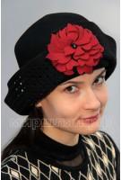 Шляпа фетровая Ред-Шарм