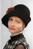 Шляпа фетровая Сизаль
