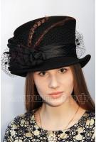 Шляпа фетровая Маттиола