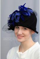 Шляпа фетровая Астранция