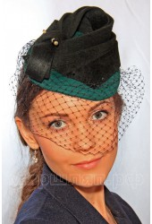 Коктейльная шляпка ТАЙНИ