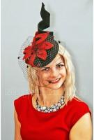 Коктейльная шляпка ЛАНИЯ