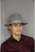 Шляпка фетровая мужская