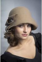 Шляпка фетровая Абена
