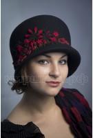 Шляпка фетровая Афия
