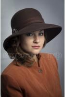 Шляпка фетровая Бетисса