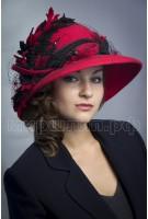 Шляпка фетровая Мирен