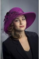 Шляпка фетровая Алима