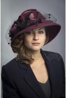 Шляпка фетровая Айолана