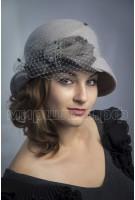 Шляпка фетровая Фемида